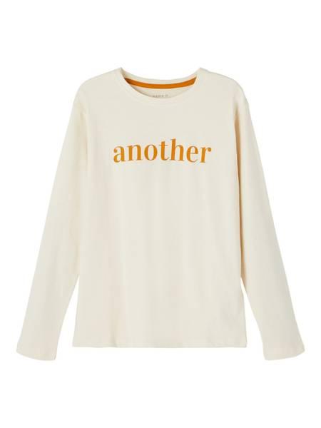 Name it, Nkfkalsi lys beige genser