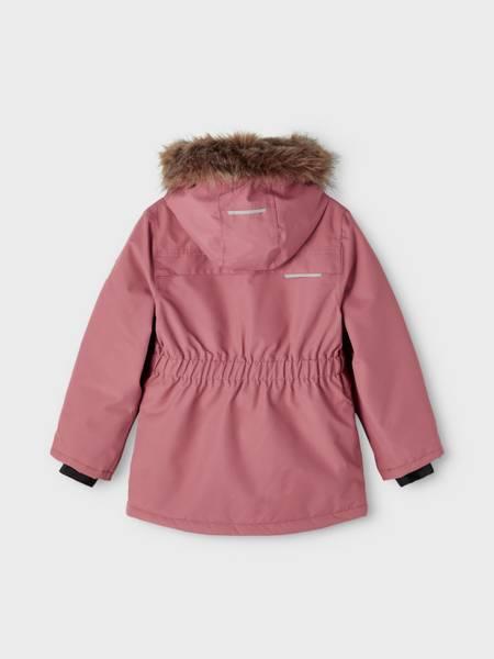 Name it, Nkfsnow10 rosa vinterjakke