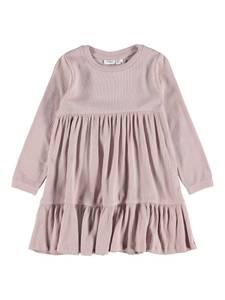 Bilde av Name it, Nmffabbi ribbet gammelrosa kjole